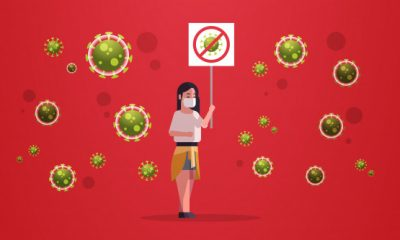 Coronavírus: contágio mesmo sem contato com um contaminado
