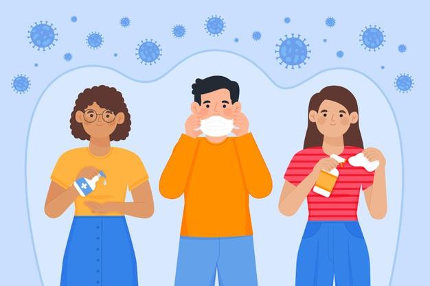 Coronavírus suspenso no ar: 16 horas de risco